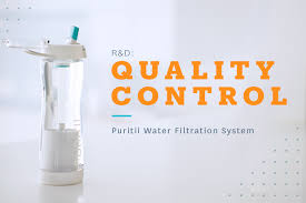 puritii bottle quality control
