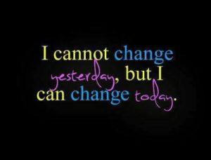 change tomorrow